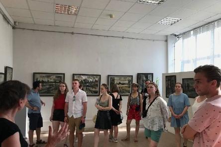 Встреча со студентами МГУ им. М.В. Ломоносова
