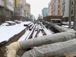 Почти 250 мест раскопаны из-за проблем с теплосетями в Нижнем Новгороде