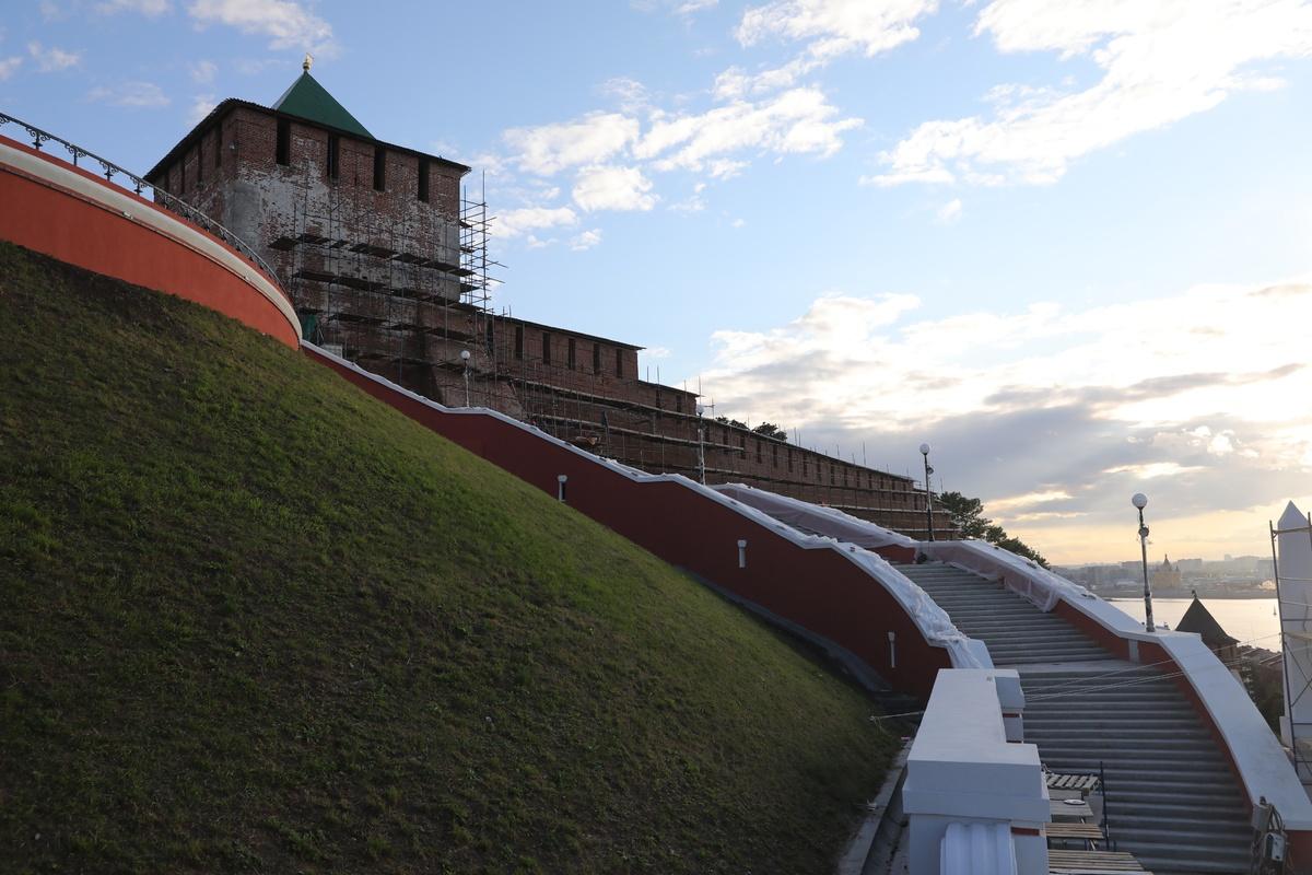 Чкаловская лестница откроется после реконструкции 1 августа - фото 1