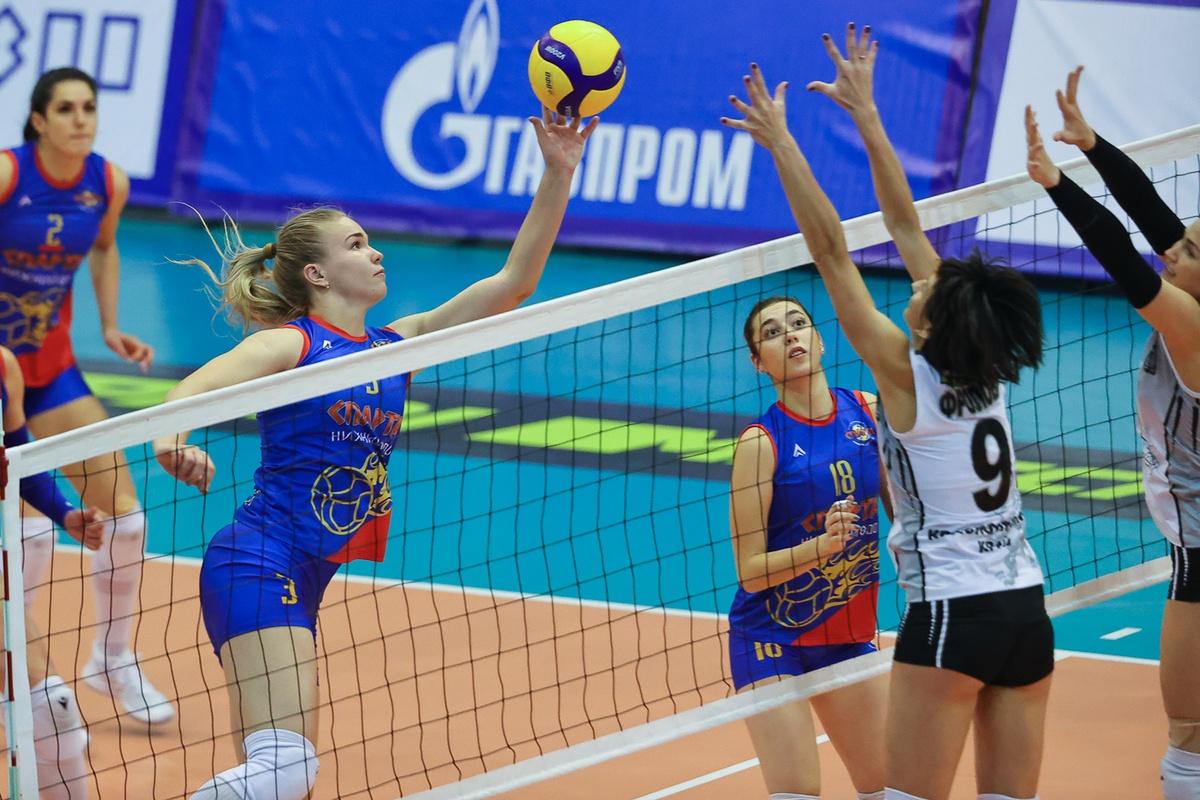 Нижегородская «Спарта» одержала вторую победу в Суперлиге - фото 1